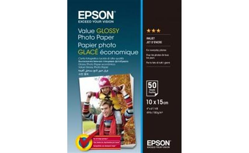 Epson Value Glossy Photo Paper (C13S400038), 10x15, 50 л