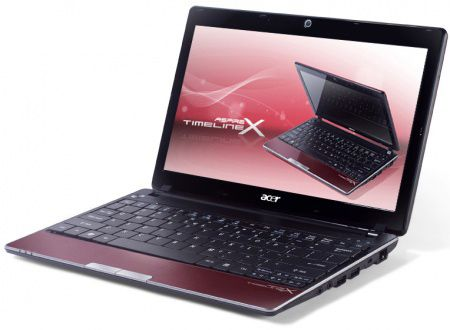 Acer Aspire 1830TZ-U562G50nrr (LX.PYY01.009), 11.6'' (1366x768) LED, Red