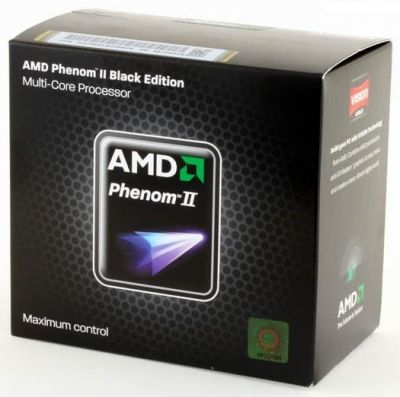 AMD Phenom II X4 (HDZ955FBGMBOX) 955 Black Edition, AM3+, Box