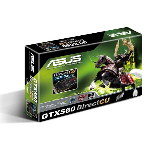 Asus GeForce GTX 560 (ENGTX560 DC/2DI/1GD5), 1Gb, 256bit